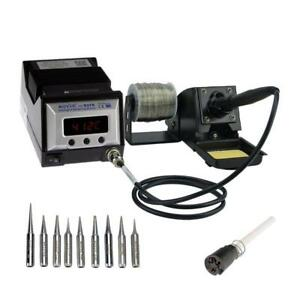 Aoyue 9378 Pro Series 60 Watt Programmable Digital Soldering Station Esd Safe