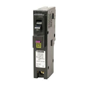 20a Square D Homeline Hom120pdf Circuit Breaker With Combination Arc fault groun