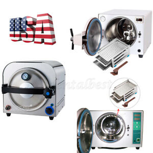Dental Stainless s Steam Sterilizer Autoclave Medical Lab Equipment 14 18 Liter