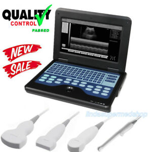 Laptop Portable Digital Ultrasound Scanner Convex linear cardiac transvaginal Us