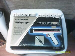Sears Craftsman Timing Light Model 161 213400 W Case And Instructions Tested