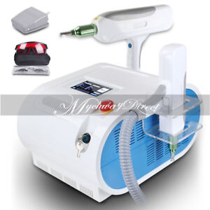 Q Switch Nd Yag Laser Tattoo Eyebrow Callus Removal Red Target Light Machine