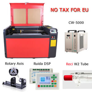 Reci 100w Co2 1000x600mm Laser Engraving Cutting Machine Engraver Cutter Eu