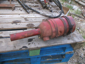 Farmall Ih 400 450 Diesel Air Cleaner Breather Good Cond