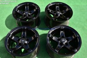18 Ford F150 Svt Lightning Oem Factory Wheels Expedition Gloss Black 1999 2000