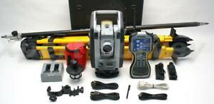 Trimble S7 3 Dr Plus Robotic Total Station W Tsc3 Controller Survey Pro V6
