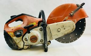 Stihl Ts420 14 Cutquik Concrete Cut off Saw Gas Powered