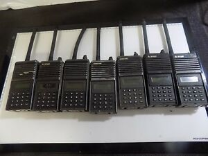 Analog Bk Radio Bendix King Forest Fire Digital 14 Channel Eph5102x Lot Of 7