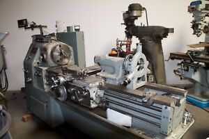 Okuma Ls 450 Lathe With Digital Read Out And Taper Attachment