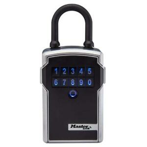 Master Lock Lock Box Bluetooth Portable Key Safe 3 1 4 In Wide 5440d