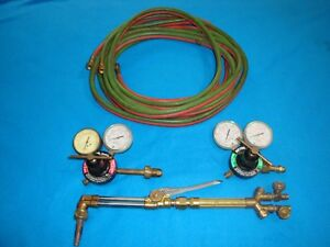 Genuine Victor Firepower Torch Set cutting Torch Handle Mixer Regulators