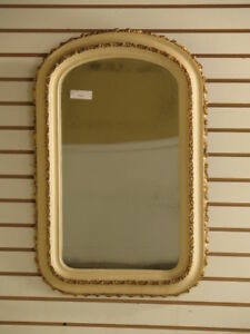 F37807 Antique Victorian Paint Decorated Mirror