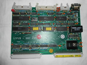 Zsk Embroidery Electronic Circuit Boards Ifp19 For Mscd