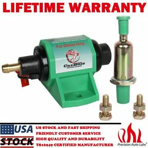 12v 4 7psi Universal Micro Electric Fuel Transfer Pump 35 Gph 5 16 Diesel Only