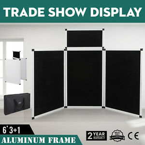 5 9 X 3ft Trade Show Display Presentation 3 Panel 1 Header Up to date Styling