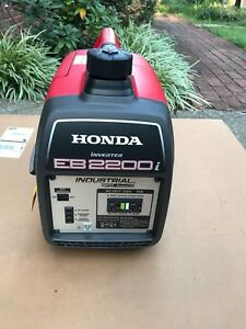 Honda Eb2200i Super Quiet 2200 watt Portable Industrial Inverter Generator