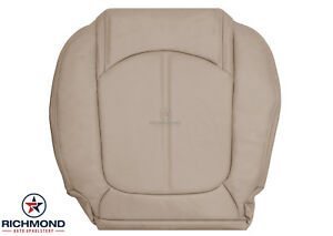 2007 2012 Gmc Acadia Slt driver Side Bottom Replacement Leather Seat Cover Tan