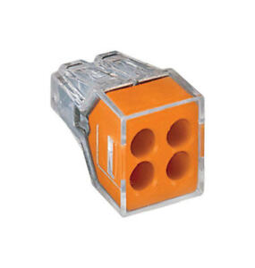 k Wago Wall nuts 773 104 4 conductor Qty 300 Pieces