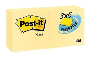 Post it Notes Value Pack America s 1 Favorite Sticky Note 3 X 5 inches