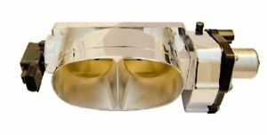 Cfm Twin 67mm Polished Aluminum Throttle Body