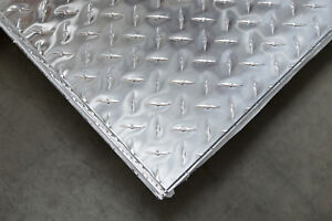 3003 Aluminum Diamond Plate Bright 25 1 4 X 48 X 96 1 Pc