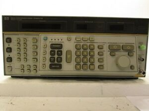 Hp Hewlett Packard 8662a High Performance Signal Generator 10 Khz 1280mhz