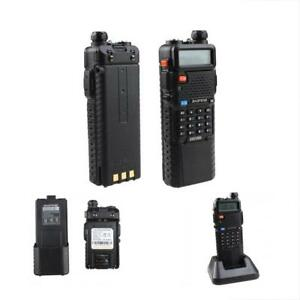 Handheld Radio Scanner Way Upgrade Digital Transceiver Police Ham Vhf Antenna