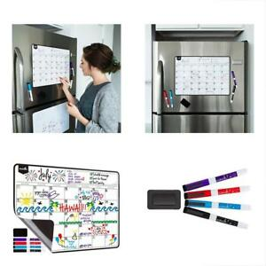 Desktop Calendars Supplies Magnetic Dry Erase For Fridge With Stain Resistant