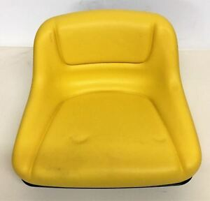 11 50 Tall Yellow Vinyl Seat With Metal Pan With 7 3 4 X 3 7 8 Mounting
