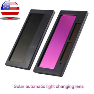 4 1 4 X 2 Solar Auto Darkening Welding Lens Hood Filter Shade 3 11 Us Stock