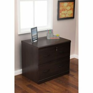 Z line 2 drawer Lateral File Espresso