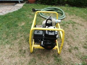 Wacker Neuson Pt2 Portable 2 Water Trash Pump Honda Gx160 Gas Engine