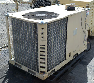 Military 5 ton Ac Duct Air Conditioner Ecu Heat 120 208v 3 phase Portable Skid