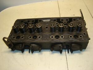 1960 Massey Ferguson 65 Diesel Tractor Engine Head