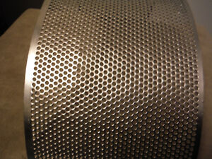 Fitzpatrick Fitzmill Hammer Mill Screen 3 Round Mesh Perforated