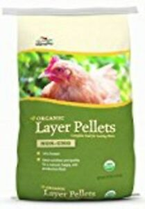 Manna Pro Poultry Feed Organic Layer 30 Lb