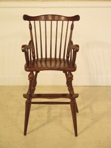 F25516ec Frederick Duckloe Child S Size Windsor Cherry Arm Chair