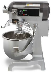 Chef s Exclusive Commercial All Purpose Planetary Stand Mixer 20 Qt 1 5 Hp