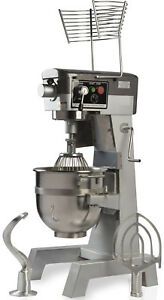 Chef s Exclusive Commercial All Purpose Planetary Floor Stand Mixer 30 Qt 2 Hp