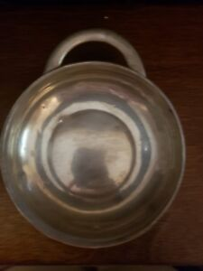 Antique Towle Sterling Silver Porridge Baby Bowl Dish Great Find