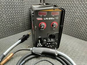New Lincoln Digital Ln 25x Wire Feeder With Lincoln Magnum 400a Mig Gun