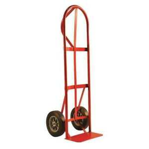 P handle Truck with 10 solid Tires Milwaukee Hand Trucks Dc47118