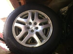 Four Winter Tires General Altimax 225 60 16 On Subaru Rims 300 Staten Island
