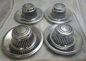 1968 1982 Chevrolet Rally Derby Style Full Set Factory Center Cap Oe 3925805