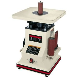 12 HP 5.5 in. Benchtop Oscillating Spindle Sander with Spindle Assortment 110-