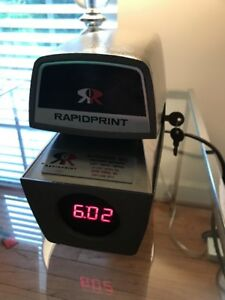 Rapidprint Model Arl e Business Time Clock Recorder And Date Stamp W Key