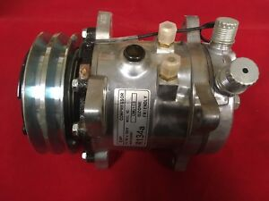 New Sanden Sankyo Sd 507 Compressor With Clutch For R134a