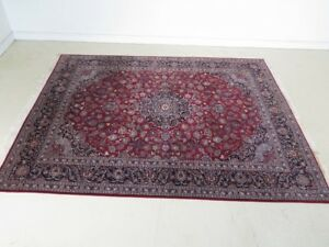 Lf29156 Vintage Approx 8 X 10 High Quality Room Size Rug