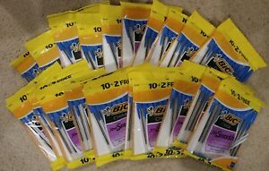240 Bic Ballpoint Blue Ink Pens Medium Bulk Office Supplies Wholesale Lot