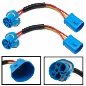 9004 9007 Hb5 Extension Wiring Harness Sockets Wire For Headlights
